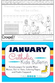 catholic kids january 2017 catholic kids bulletin