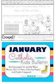 catholic kids january 2017 catholic kids bulletin
