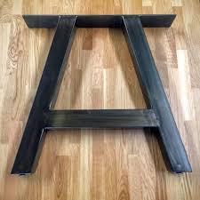 Bench Supports Best 25 Metal Desk Legs Ideas On Pinterest Metal Table Legs