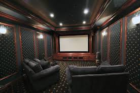 home cinema room design tips how to create a home theater room decor and lighting tips from