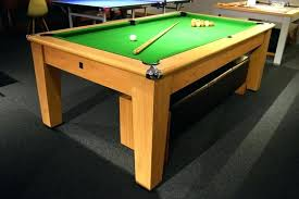 dining table signature bristol pool dining table 7ft pool table