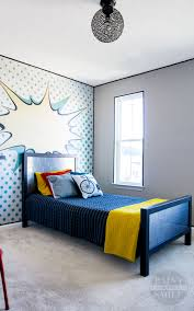 Teen Bedroom Makeover - pop art bedroom make over reveal paint yourself a smile