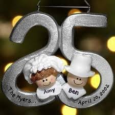 25th wedding anniversary christmas ornament 152 best 25th wedding anniversary party silver images on