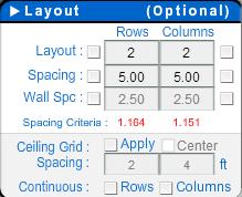 warehouse lighting layout calculator lighting layout tool help sunlight supply