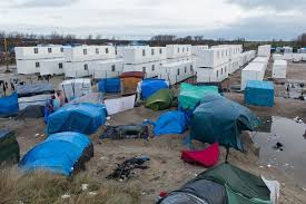 calais migrants have new shelters built from shipping containers