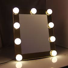 makeup mirror with light bulbs home vanity decoration
