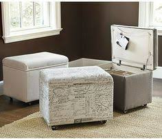 Hanging File Storage Ottoman Ottoman Casters Upholstered Hinges Storage Home