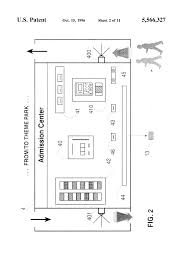 patent us5566327 computerized theme park information management