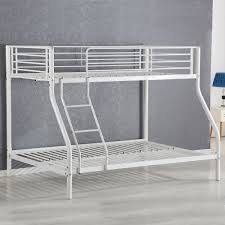 Steel Frame Bunk Beds by Space Save Kids Twin Full Metal Bedroom Bed Frame Cribs