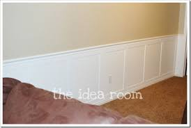 faux wainscoting diy version 2 the idea room