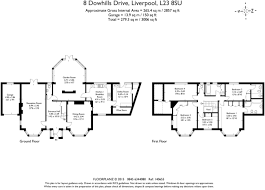 18 sqm to sqft 5 bedroom detached house for sale in dowhills drive blundellsands