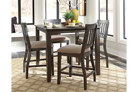 dresbar dining room table dresbar counter height dining room table ashley furniture homestore