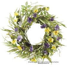 spring wreaths for front door front door wreaths to beautify your home