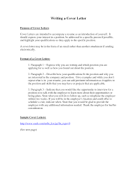 T Cover Letter Sample Purpose Of A Cover Letter Cv Resume Ideas