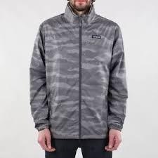 patagonia light and variable jacket patagonia light variable jacket rock camo hex grey ebay