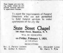 funeral parlor to zen center in boerum hill brownstoner