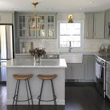 White Cabinet Kitchen Best 25 Light Grey Kitchens Ideas On Pinterest Grey Cabinets