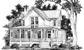Southern Farmhouse Home Plan Impressive House Plan 86162 At Familyhomeplanscom 2 Spectacular Idea Southern