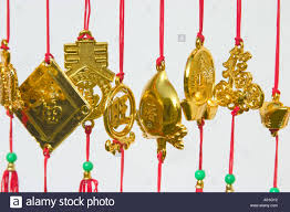 chinese new year decoration items stock photo royalty free image