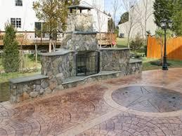 Concrete Decks And Patios Stamped Concrete Patio Driveway Pool Deck Walkway Manassas