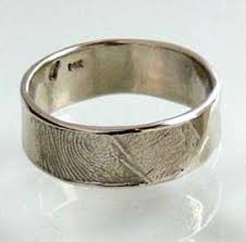 personalized wedding bands fingerprint wedding bands camille hempel rings