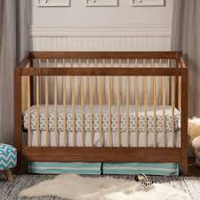 Convertible Crib Bed Rails by Davinci Highland Crib In Chestnut Ships Free At Simply Baby