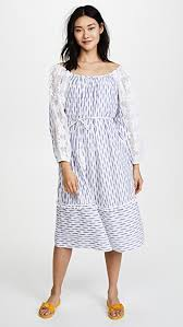 women s apparel place nationale ikat smock dress blue womens apparel quality and