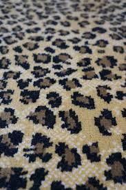 Leopard Print Runner Rug Animal Print Hemphill S Rugs Carpets Orange County