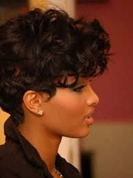 short curly hairstyles for black women 2017
