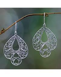 filigree earrings fall is here get this deal on sterling silver filigree earrings