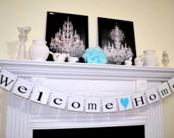 Welcome Home Decorations Welcome Home Banner Military Banner Home From War