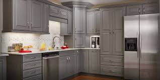 Dark Gray Cabinets Kitchen Grey Stained Oak Cabinets Nrtradiant Com
