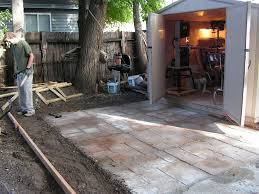 18 Inch Patio Pavers by How To Make A Nice Cement Patio 4 Steps With Pictures