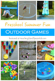 Backyard Games For Toddlers by 15 Fun Outdoor Games For Preschoolers Outdoor Games Fun Outdoor