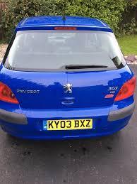 peugeot tdi for sale peugeot 307 2l tdi for sale in fareham hampshire gumtree