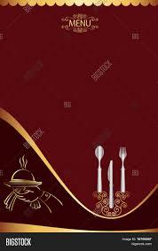 menu card templates menu card design template vector photo bigstock