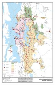 seattle map by county facilities and utilities king county