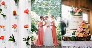 wedding theme ideas 15 lovely ideas for a coral wedding theme