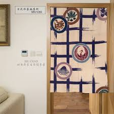 Door Pattern Aliexpress Com Buy Myru Japan Style Wash Painting Plants Pattern