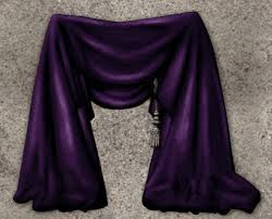 Purple Drapes Or Curtains Second Marketplace Nb Curtains Drapes Purple