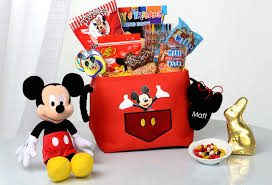 personalized mickey mouse easter basket create your easter memory with disney floral gifts disney