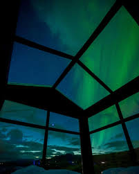 sleep under the northern lights room with a view hotels glass ceiling allows guests to sleep under