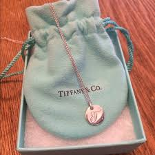 heart charm necklace tiffany images 26 off tiffany co jewelry tiffany notes alphabet disk charm jpg