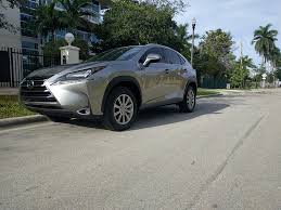 lexus nx 200t black interior 2015 lexus nx 200t atomic silver black interior 9k miles