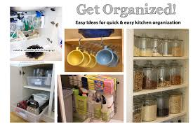 quick kitchen organization for the non crafty u0026 busy woman