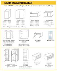 kitchen cabinet height sizes wall cabinet size chart builders surplus