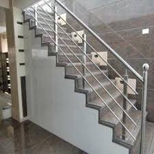 ss staircase railing at rs 350 square feet stainless steel
