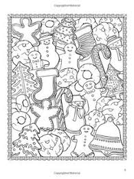 christmas street colouring heart coloring pages