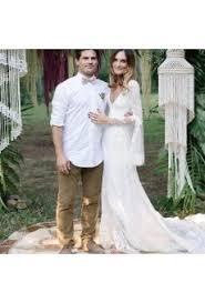 modest long short cap sleeve lace sleeve wedding dresses