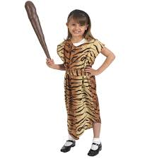 caveman stoneage fancy dress costume for kids